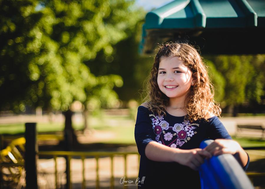 foto niña sonriendo