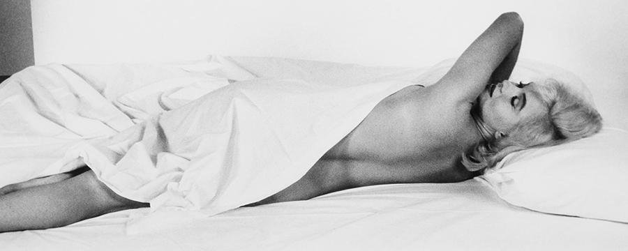Marilyn Monroe en cama