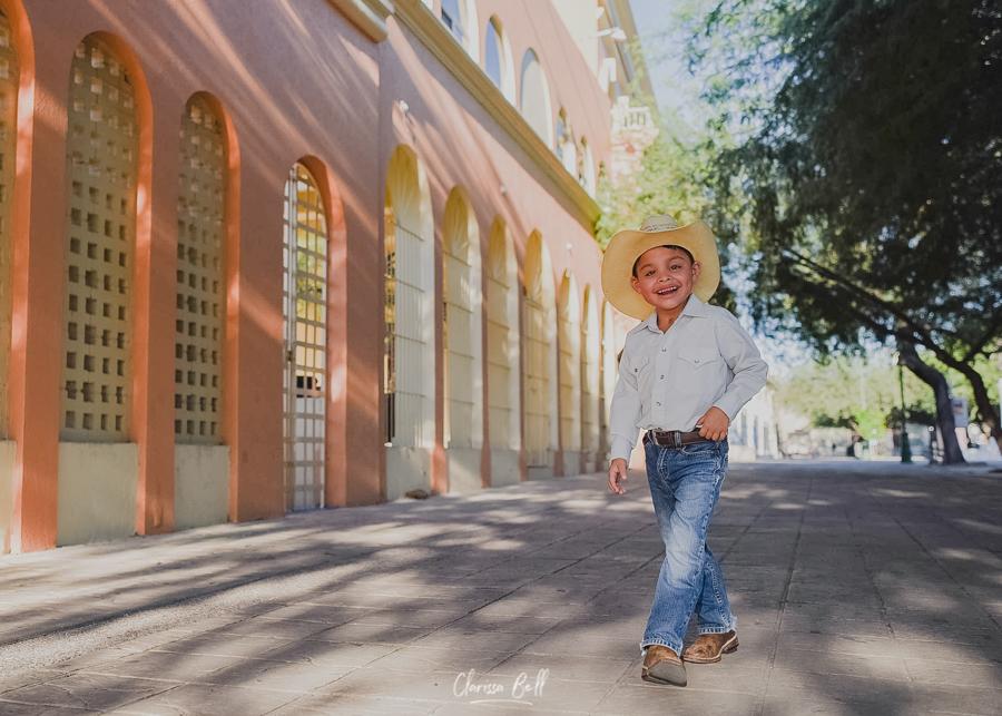 Niño vaquero