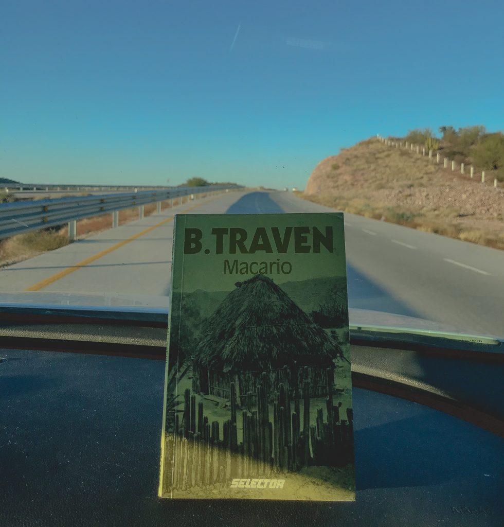 Portada del libro Macario del escritor B. Traven quincuagésima sexa reimpresión